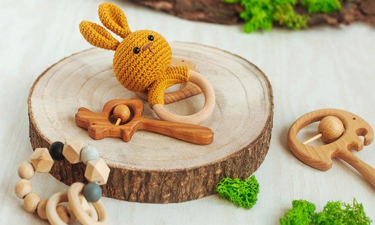 Are Wooden Teething Toys Safe For Your Baby?