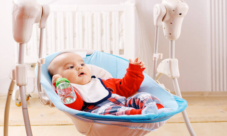 How Long Can A Baby Use A Swing Safely?