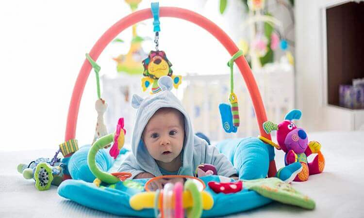 How Long Do Babies Use Activity Gyms?