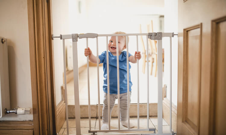 How To Attach A Baby Gate To A Wall For Safety