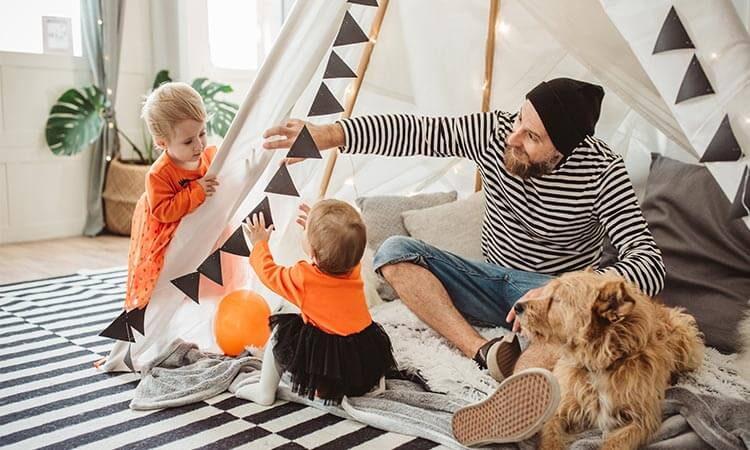 How To Build An Indoor Play Tent: A DIY Guide
