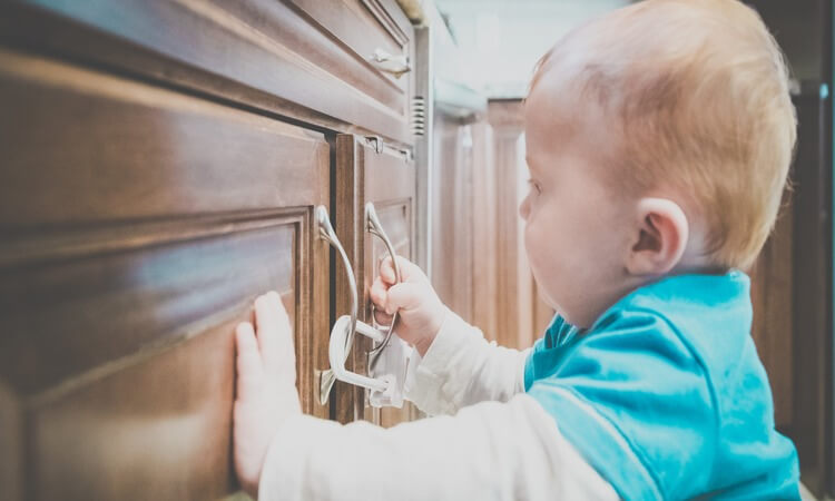How To Open Baby Proof Cabinets