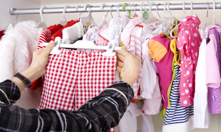 How To Organize A Baby Closet Space