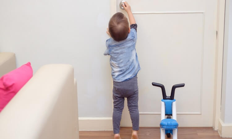 How to Childproof Your Exterior Doors: Baby Safety Tips