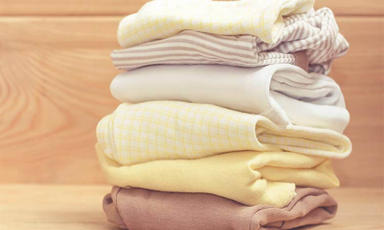 How To Fold Baby Clothes To Save Space Through KonMari