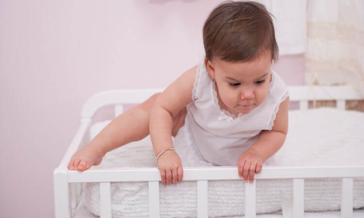 How To Keep Baby From Climbing Out Of Crib - Simple Tips