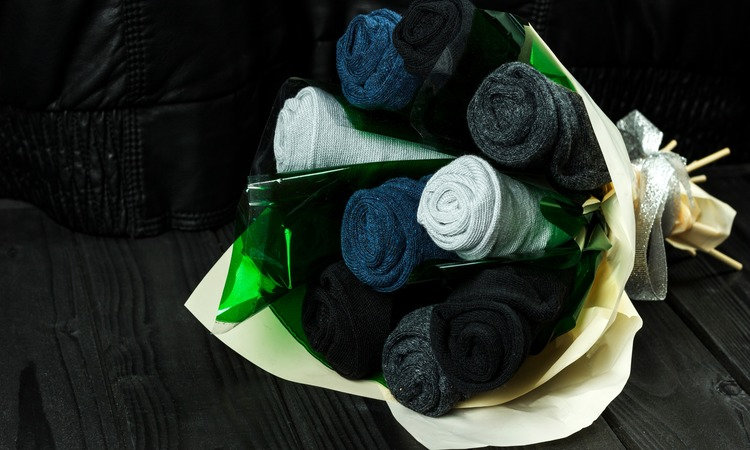 How To Make A Sock Bouquet For Baby Showers
