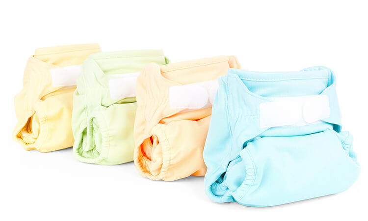 How To Make Baby Burp Cloths From Cloth Diapers