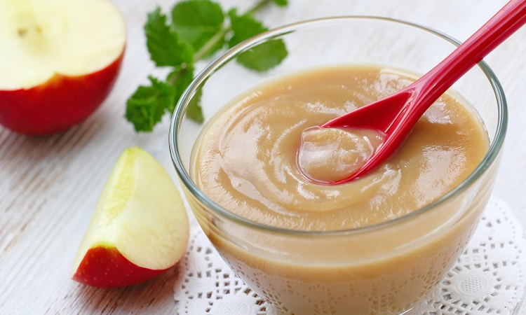 How To Puree Apples For Baby-Feeding