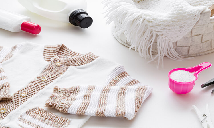 How To Remove Set In Stains From Baby Clothes?